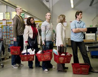 《乐乐熊奇幻追踪》17集:在超市怎么排队才能最快结账