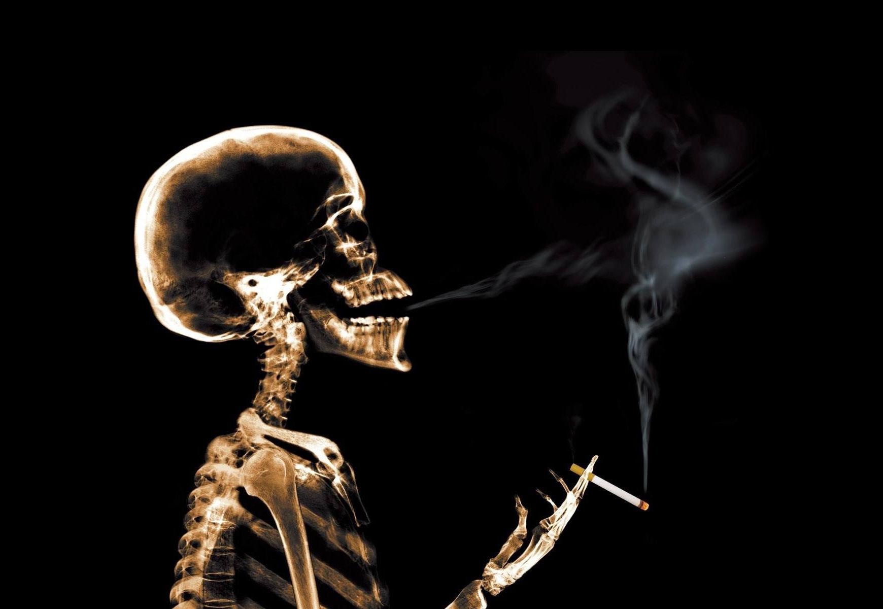 烟草吞噬生命