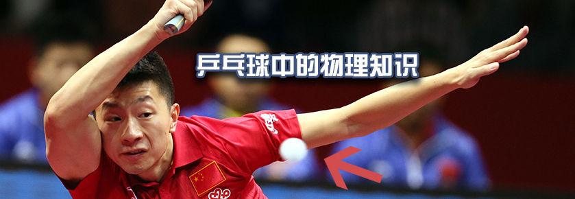 奥运系列之乒乓球中的物理知识
