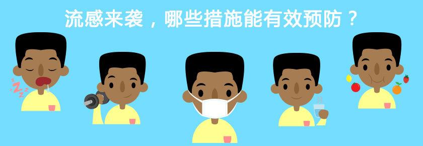 流感来袭,哪些措施能有效预防?