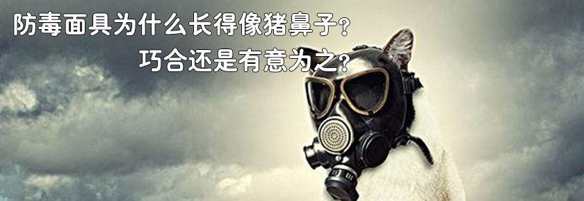 防毒面具为何长得像猪鼻子?巧合还是有意为之?