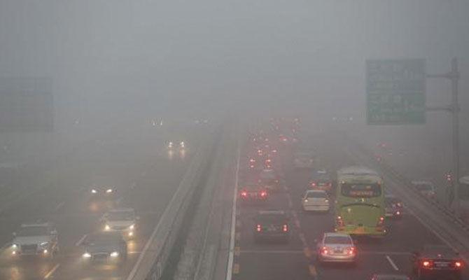 汽车尾气与雾霾