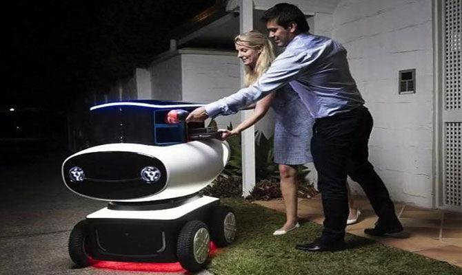 外卖机器人能取代外卖小哥吗?