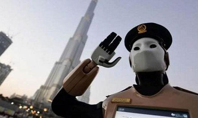 一个机器人警察的日常