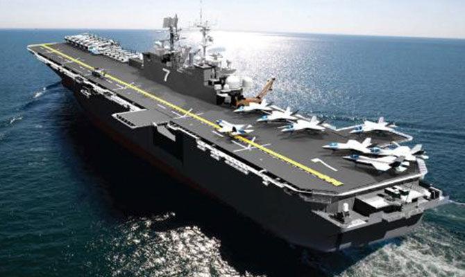 世界一流的两栖攻击舰是什么样子?