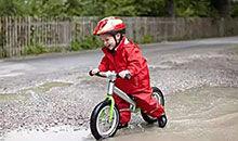 拒绝儿童骑车上街