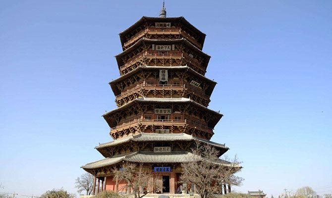 千年木塔不倒玄机