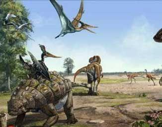 去恐龙时代旅行