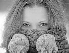 围巾当口罩 小心捂出病