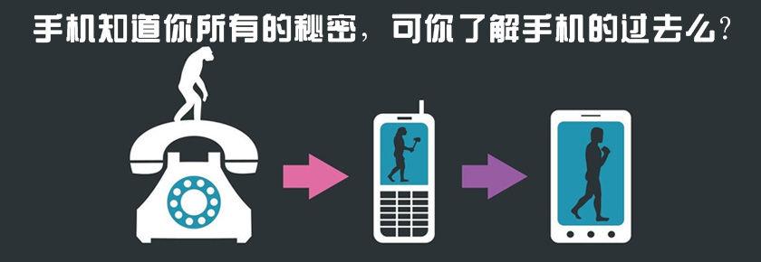 【飞碟说】手机进化史