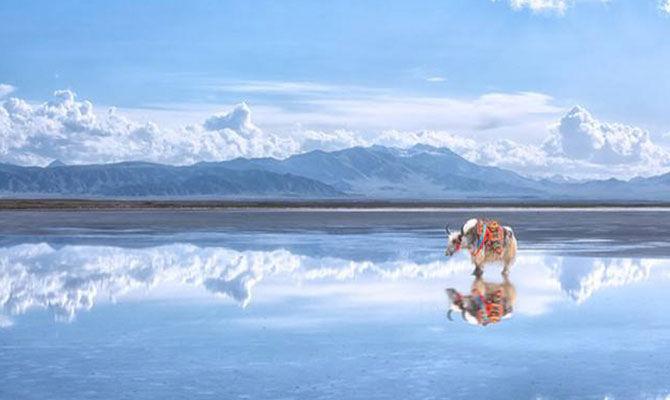 天空之镜——茶卡盐湖