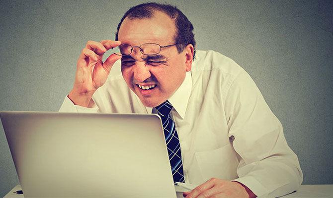 """上班族眼病""""真凶""""是电子产品?"""