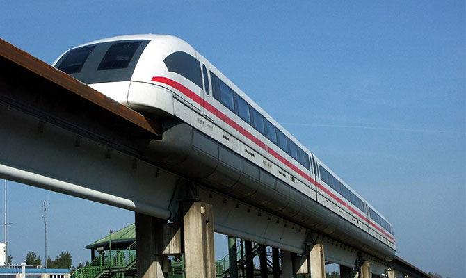 时速600公里的磁悬浮列车