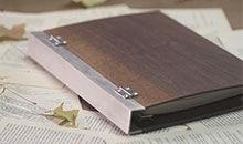 工匠实验室:木质活页手账