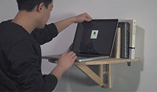 工匠实验室:拯救空间的折叠桌