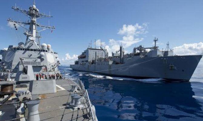 """""""海上马帮""""—两栖运输舰"""