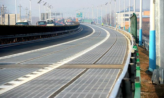 智能发电公路
