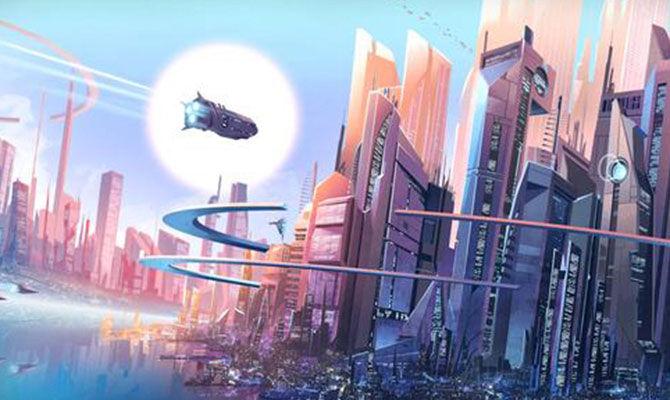 昂贵的太空城市