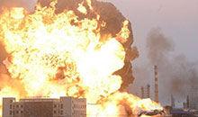 爆炸对火灾发生变化的影响