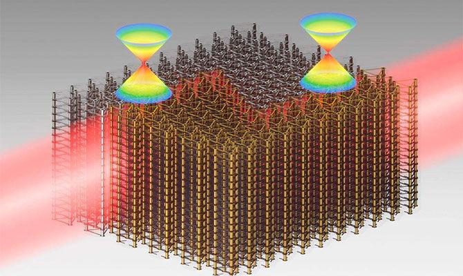 三维光学拓扑绝缘体