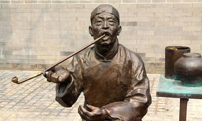 中国人是从什么时候开始吸烟的