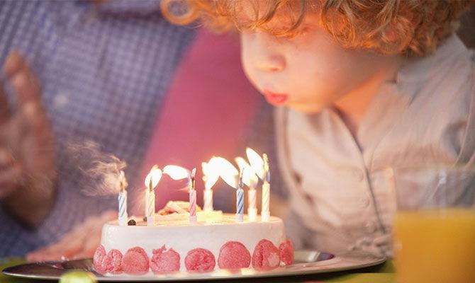 吹蜡烛会让蛋糕细菌暴增?