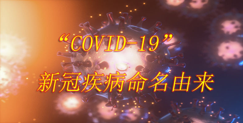 """""""COVID-19""""新冠疾病命名由来"""