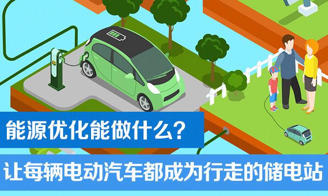 能源优化能做什么?让每辆电动汽车都成为行走的储电站