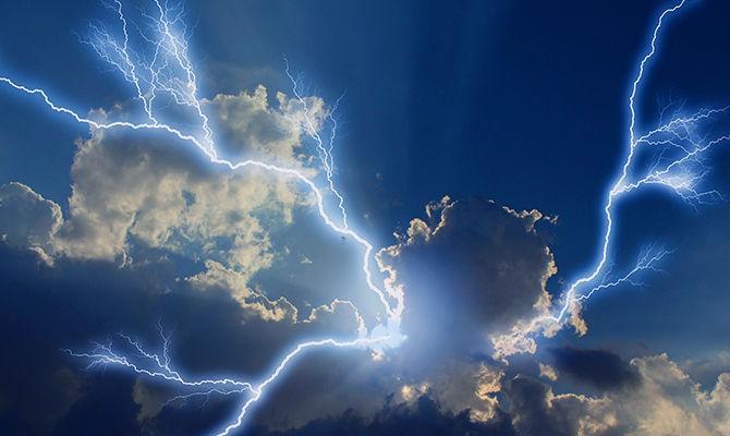 打雷以后的空气为什么很清新?