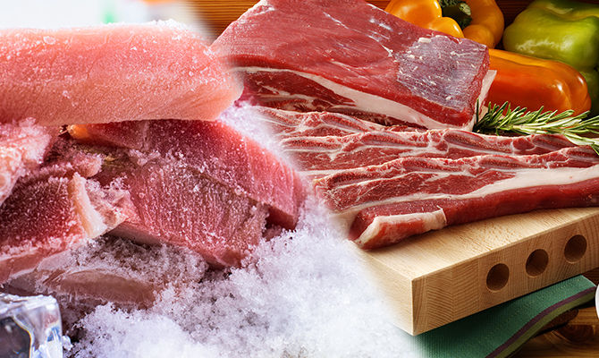 冷冻肉与新鲜肉有什么区别?