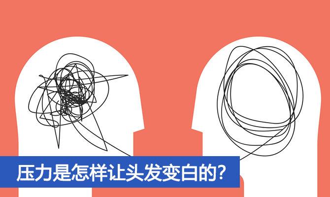 压力是怎样让头发变白的?